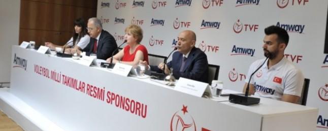 Amway'in Türk Voleyboluna Destekleri Devam Ediyor
