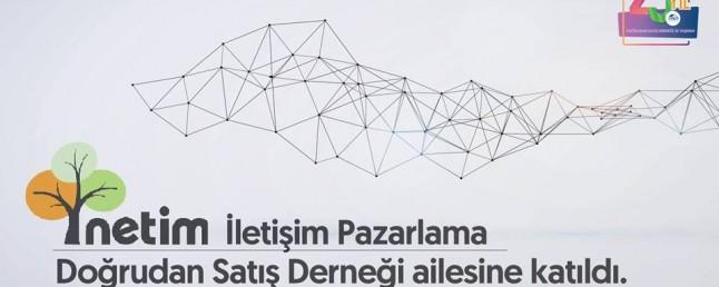 Netim İletişim Doğrudan Satış Derneğine Katıldı