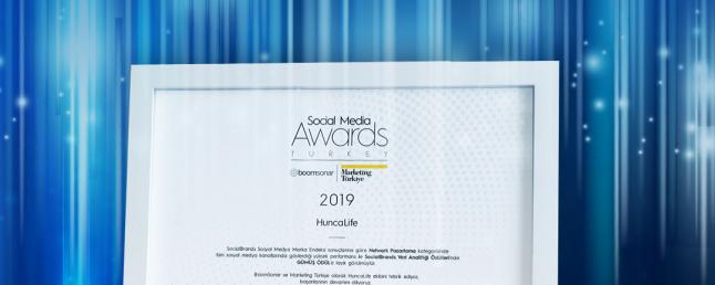 Hunca Life Network Pazarlama Alanında SocialBrands Veri Analitiği Ödülünü Aldı