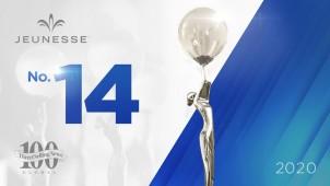 Jeunesse Üçüncü Kez DSN Global 100'ün İlk 15'inde